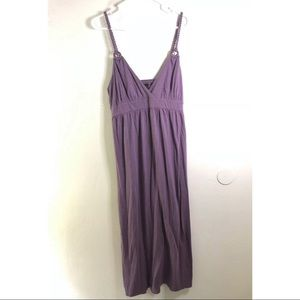 🌺 Purple Midi Dress - Never Worn